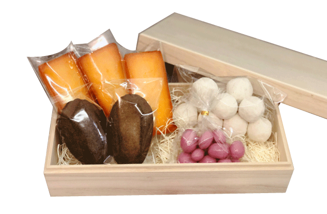 高級桐菓子箱